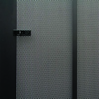 LinkBasic perforated steel Mesh Door for 22U Racks (Door only)