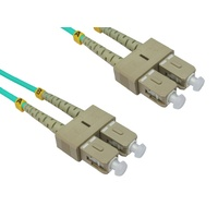 LinkBasic Multi Mode OM4 LSZH Duplex SC-SC Fibre Optic Patch Cord 5 Metre