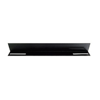 LinkBasic 19 L Rail for 1000mm Deep Cabinet only - Black