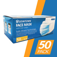 JOINTOWN 3PY General Purpose Face Masks 50pc in a Box