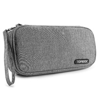 Portable Carrying Case for Nintendo Switch, Travel Carrying Bag Professional Protective Pouch for Nintendo Switch Accessories (Grey)