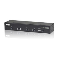 Aten VanCryst 4 in/4 Out VGA Video Matrix Switch with Audio and Serial RS-232 - up to 30m/1920x1440